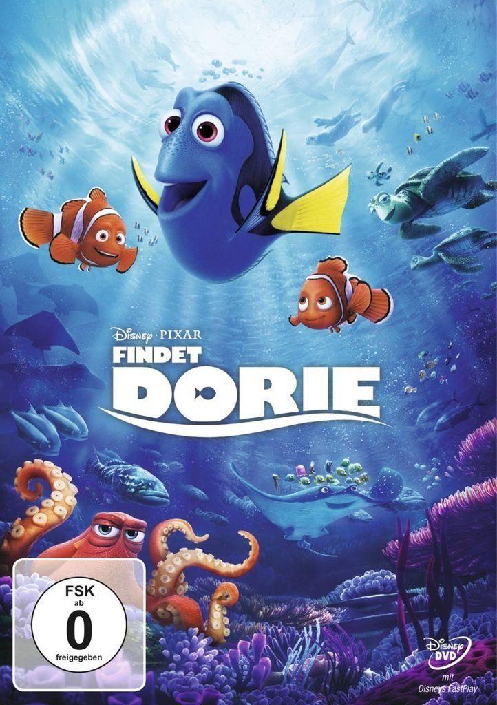 Disney DVD - Film »Disney's - Findet Dorie«