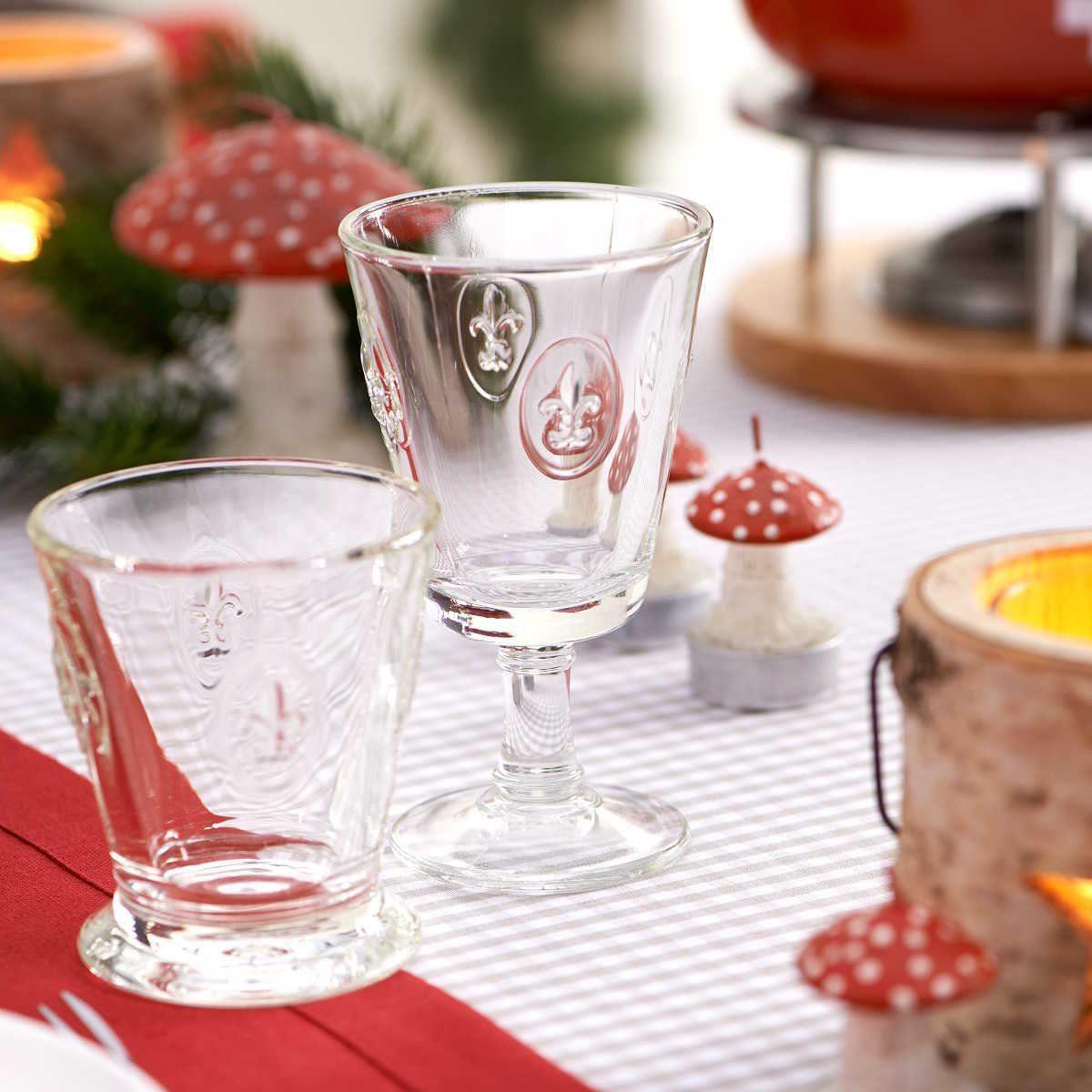 BUTLERS FLEUR »Glas mit Lilienwappen 250ml«