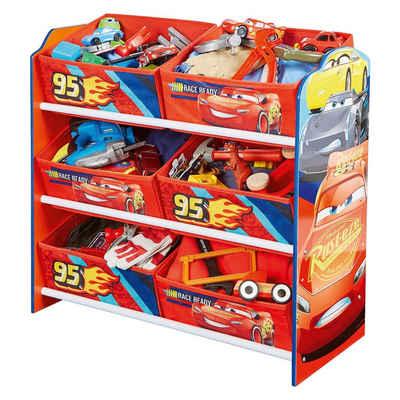WORLDS APART 6-Boxen Regal, Cars 3