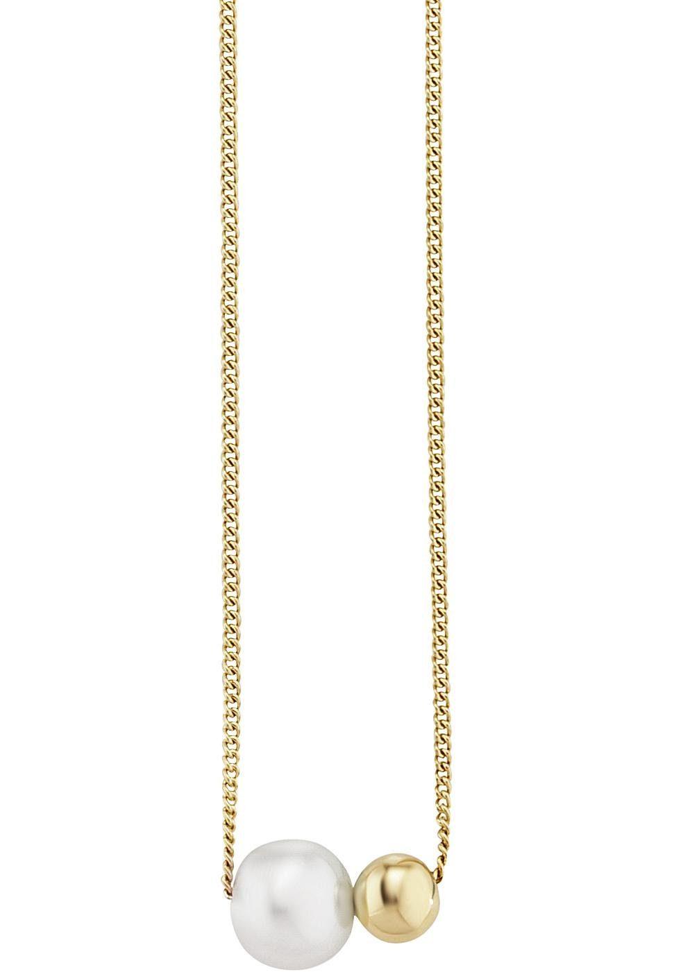 CAÏ Perlenkette »caï love, pearl twist, C7334N/90/46/44«, mit Süßwasserzuchtperle