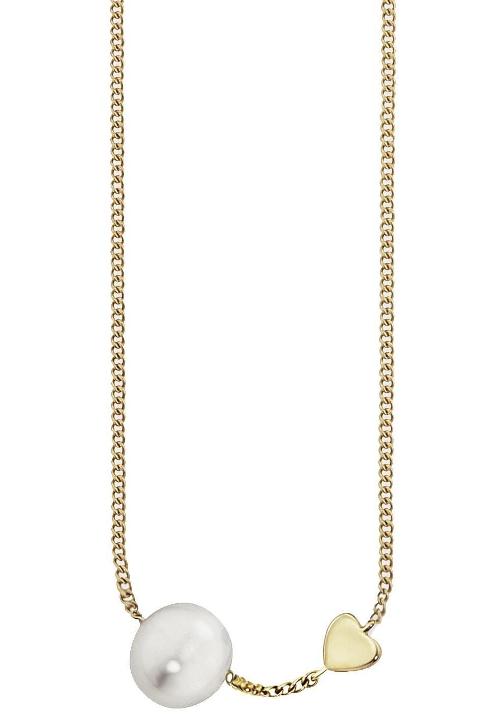 CAÏ Perlenkette »Pearl Love, C7159N/90/46/39+5«, mit Süßwasserzuchtperle