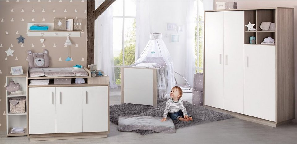 roba babyzimmer set 3 tlg kinderzimmer olaf otto. Black Bedroom Furniture Sets. Home Design Ideas