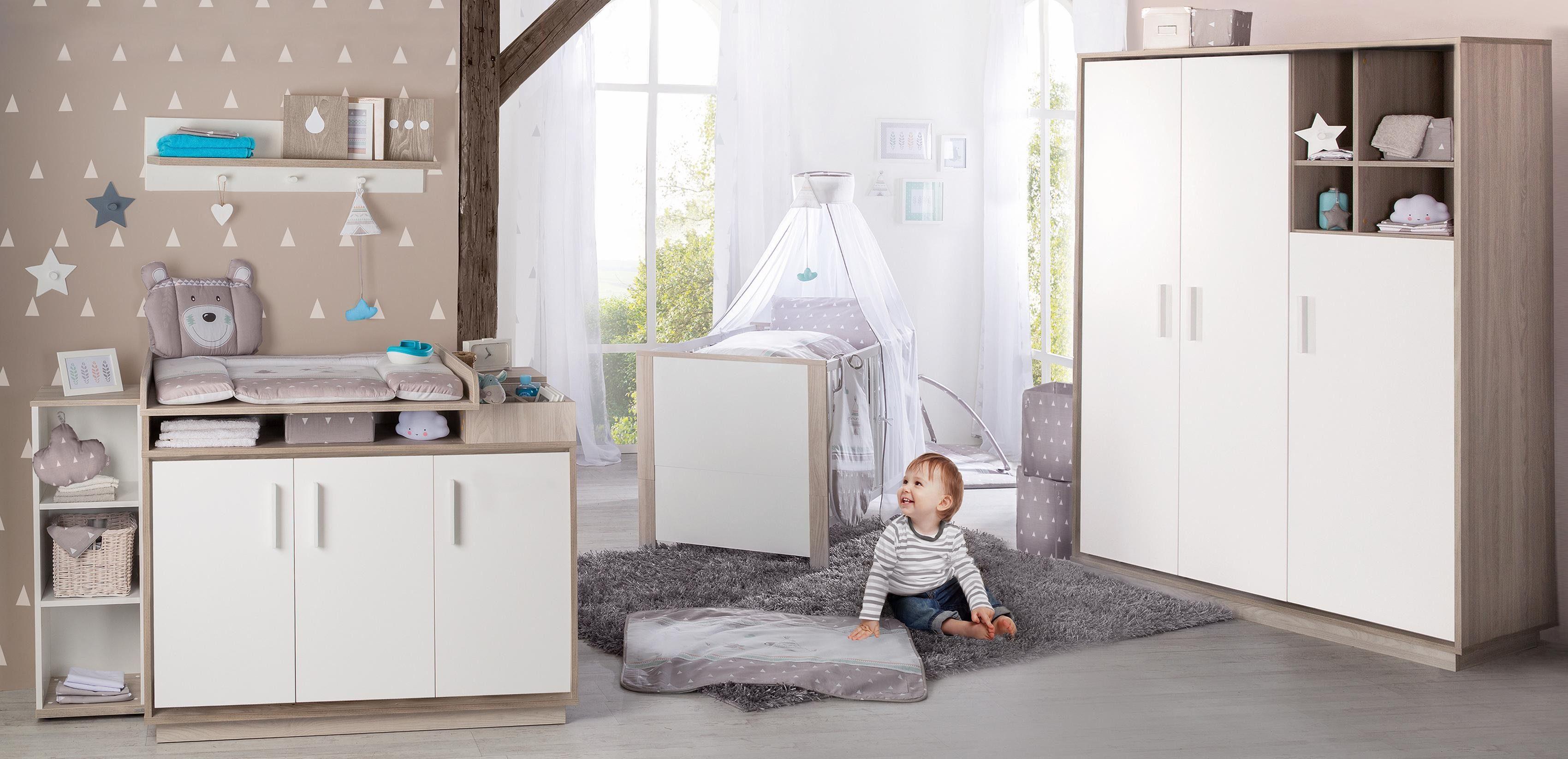 Roba Babyzimmer Set (3-tlg) Kinderzimmer »Olaf«
