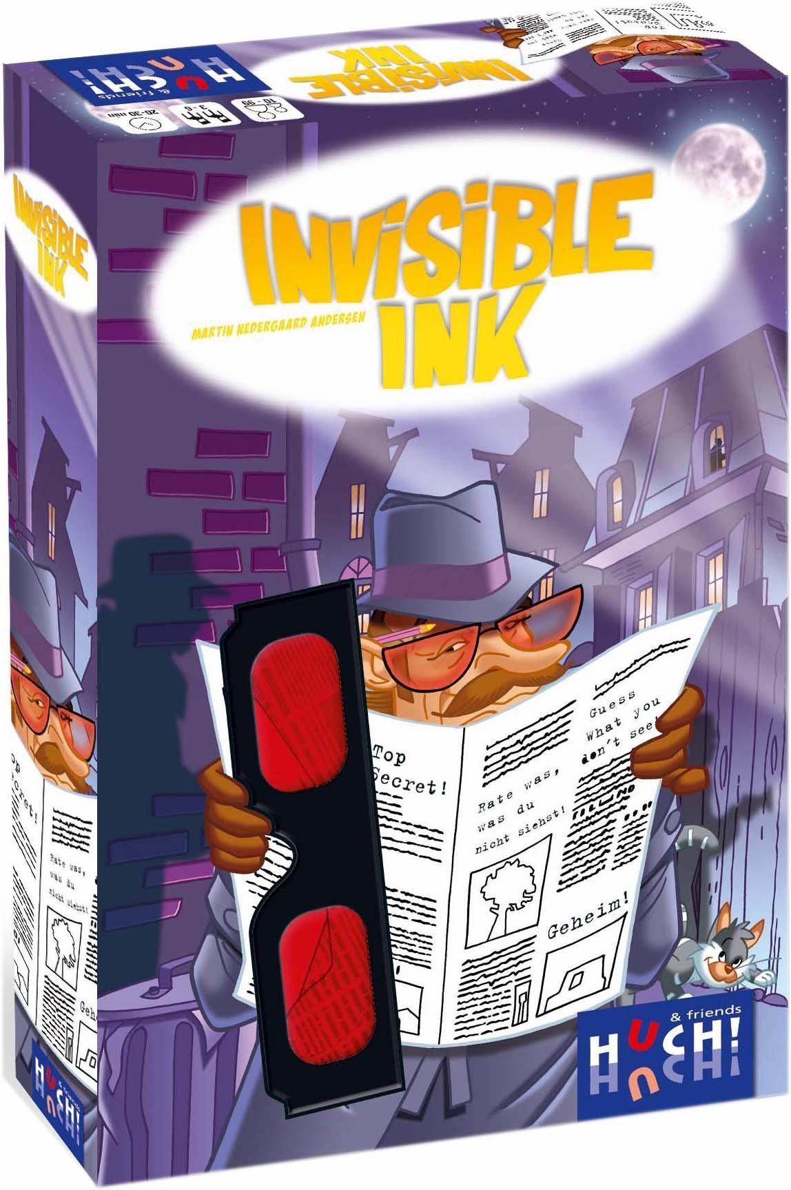 Huch! & friends Gesellschaftsspiel, »Invisible Ink«