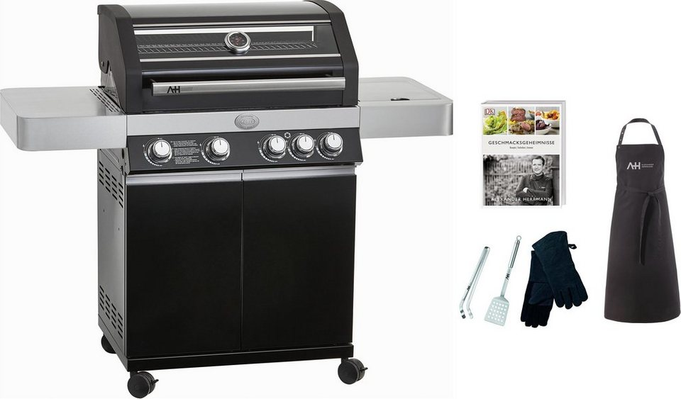 Enders Gasgrill Boston Black 4 Ik Test : Alexander herrmann gasgrill »gourmet linie« grill set 3 tlg