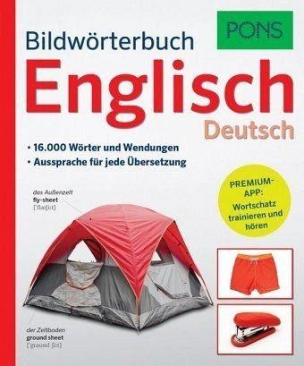 Broschiertes Buch »PONS Bildwörterbuch Englisch«