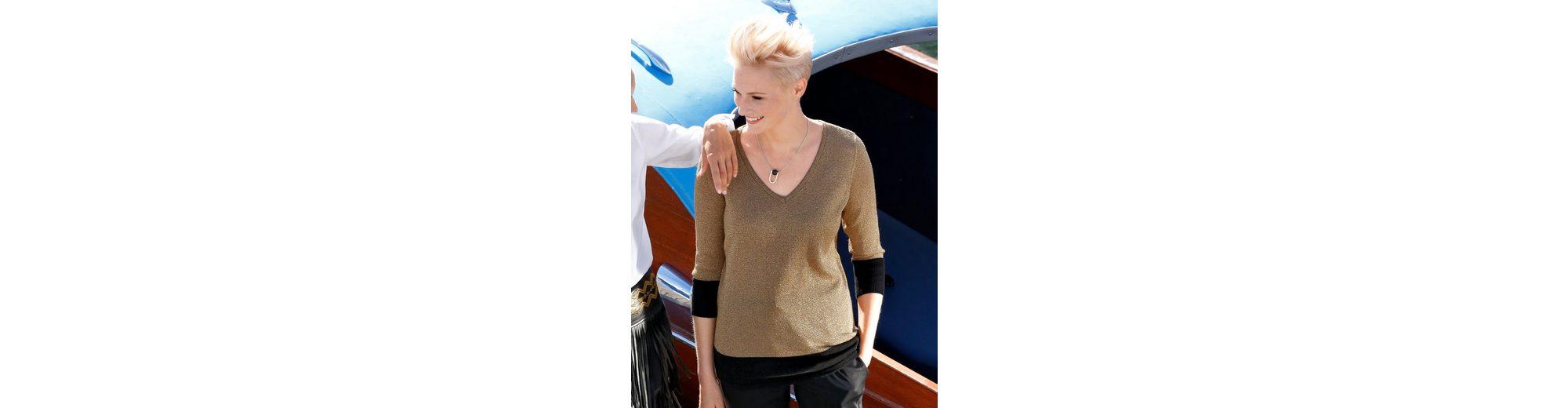 Amy Vermont Pullover mit metallisiertem Garn Speichern Günstigen Preis Billig Verkauf In Deutschland Auslass 2018 Unisex Freies Verschiffen Versorgung COSZU6x