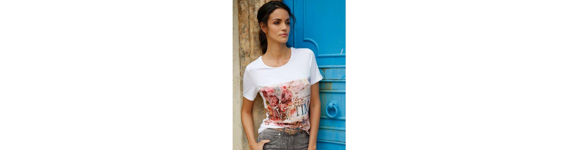 Amy Vermont Shirt mit floralem Druck Günstig Kaufen Wahl Spielraum Mit Mastercard Billig Verkauf Fabrikverkauf Online-Verkauf Freies Verschiffen Neuestes F8GeHAi4