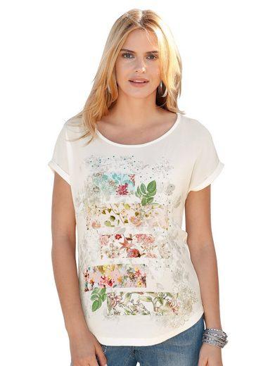 Amy Vermont Shirt mit Druck im Vorderteil