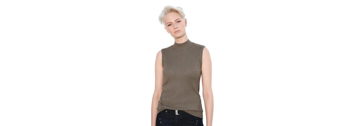 Amy Vermont Stricktop mit Lurexgarn Gute Qualität Verkauf Online-Shop c4krW0ES