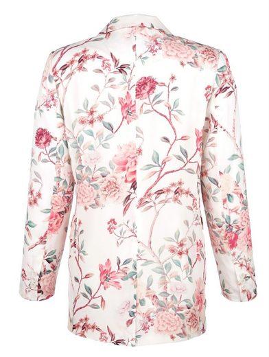 Amy Vermont Blazer allover floral bedruckt