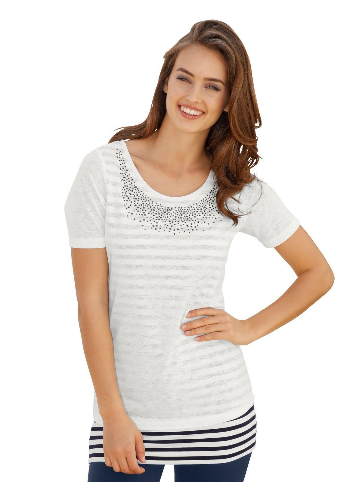 Amy Vermont Shirt im Lagenlook jetztbilligerkaufen
