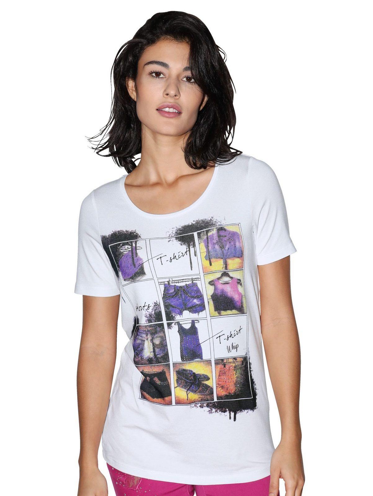 Amy Vermont Shirt mit Strassdekoration - broschei