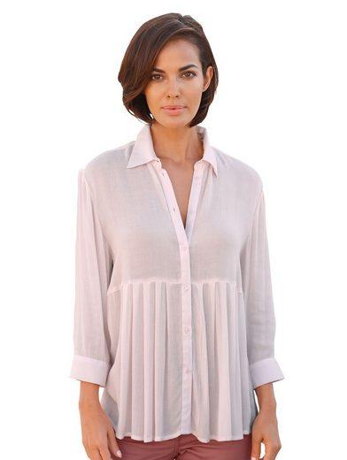 Amy Vermont Bluse mit Hemdkragen