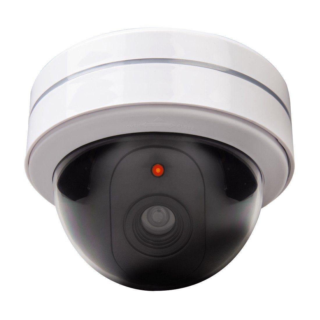 Xavax Überwachungskamera-Attrappe, rund