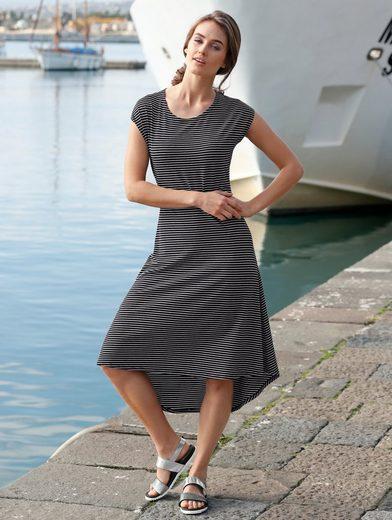 Amy Vermont Jerseykleid im Streifendessin
