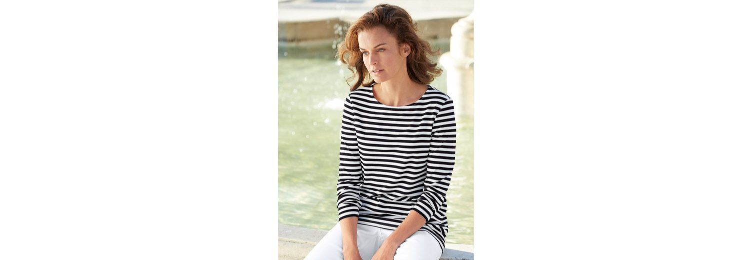 Amy Vermont Shirt im Streifendessin Aussicht Countdown Paket Günstiger Preis Spielraum Kaufen a1feAb