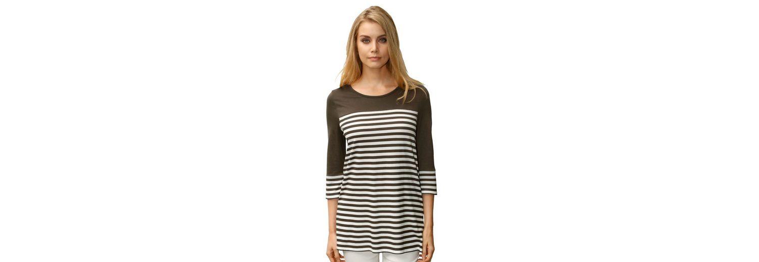 Spielraum Bester Ort Amy Vermont Shirt mit Streifendruck am Body Rabatt Online-Shopping Verkaufsshop Tkvpb2Ebj