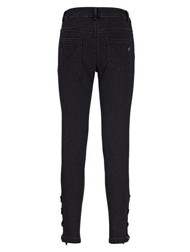 Amy Vermont Jeans Avec Laçage Latéral