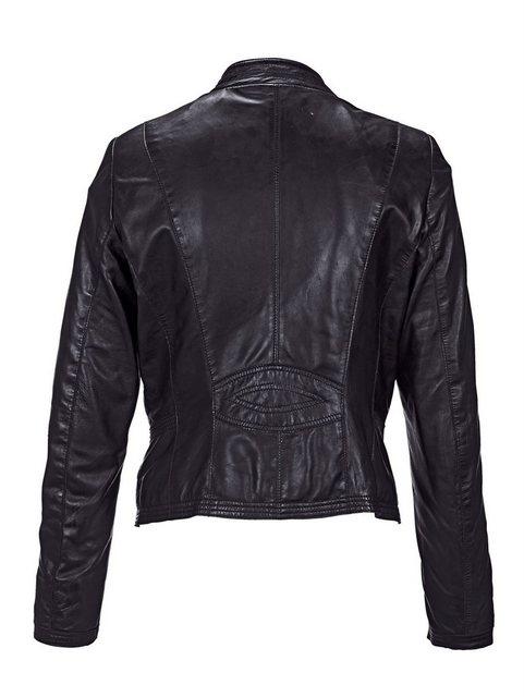amy vermont -  Lederjacke aus weichem Lammnappaleder