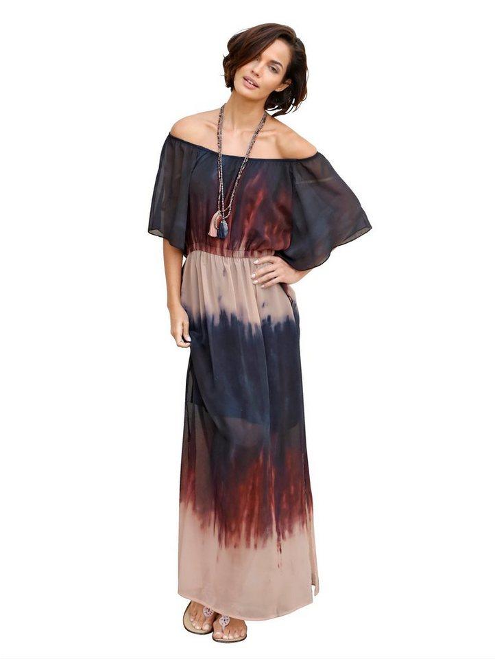 Amy Vermont Kleid aus leicht transparenter Webware und in ...