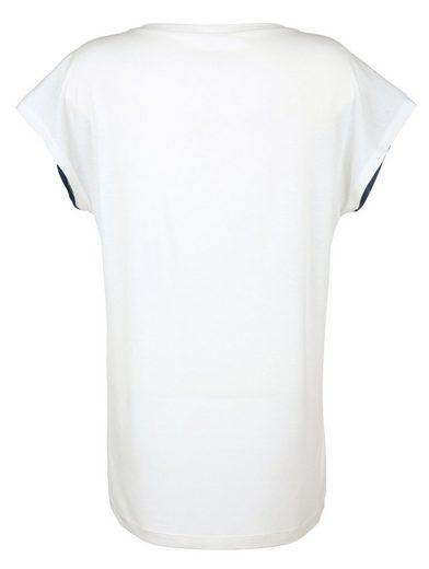 Amy Vermont Shirt mit bedrucktem Vorderteil