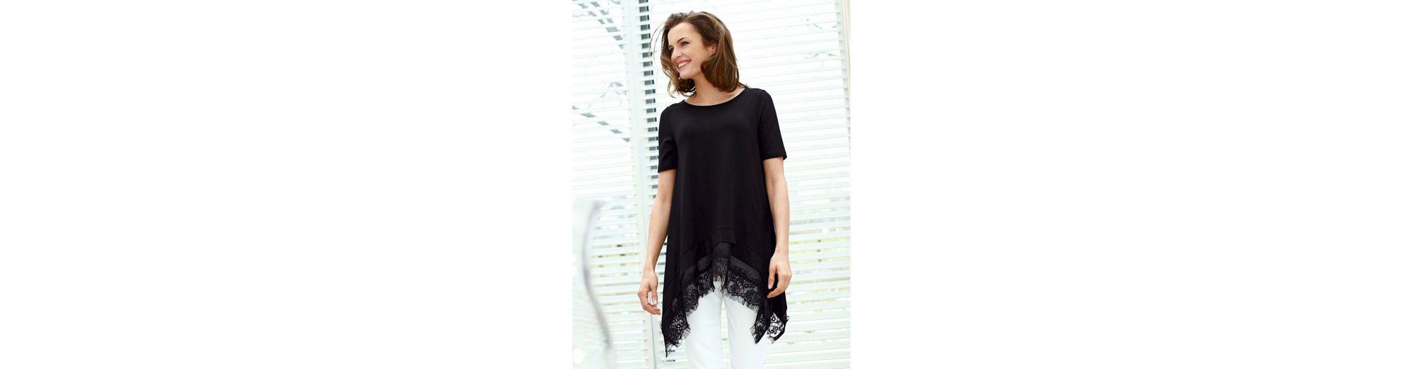 Amy Vermont Shirt in modischer, weiter Zipfelform
