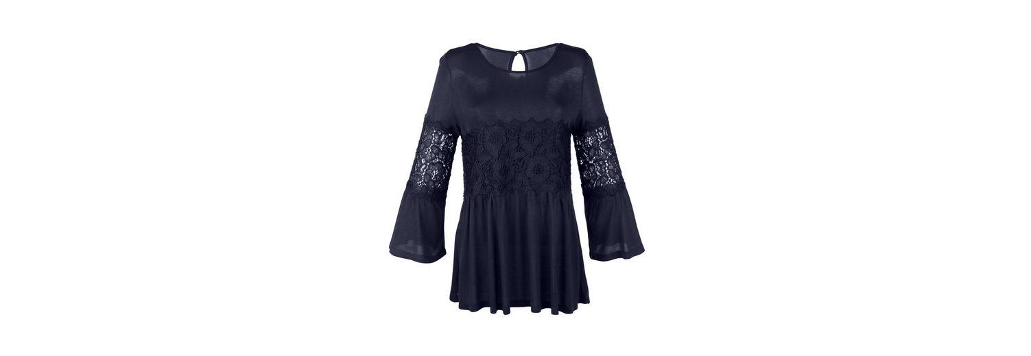 Amy Vermont Shirt mit Spitzeneinsätzen Genießen Zu Verkaufen eYH7Q
