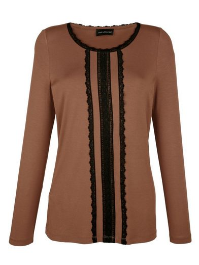 Amy Vermont Shirt With Decorative Lace Ribbons