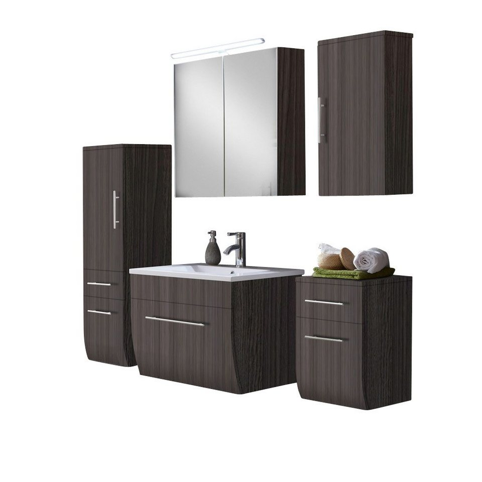 salesfever badm bel set breite 70 cm 5 tlg zwenna online kaufen otto. Black Bedroom Furniture Sets. Home Design Ideas