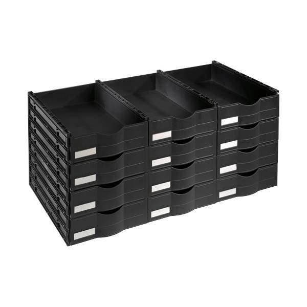 OTTO Office Standard Schubladenblock für Stahlschrank mit Flügeltüren