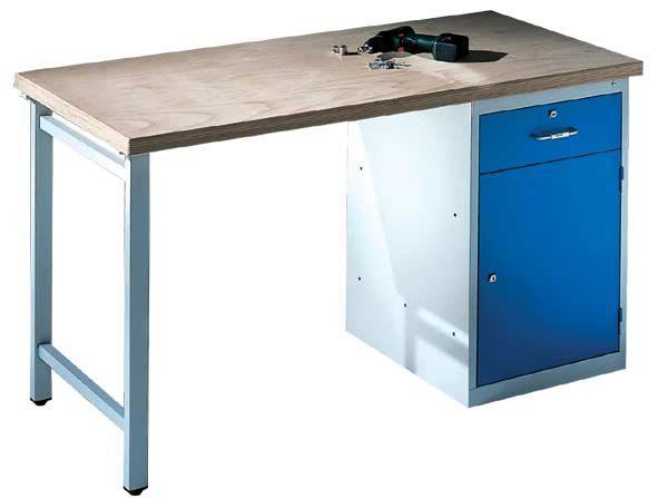 CP Werkbank mit Standschrank und 1 Schublade