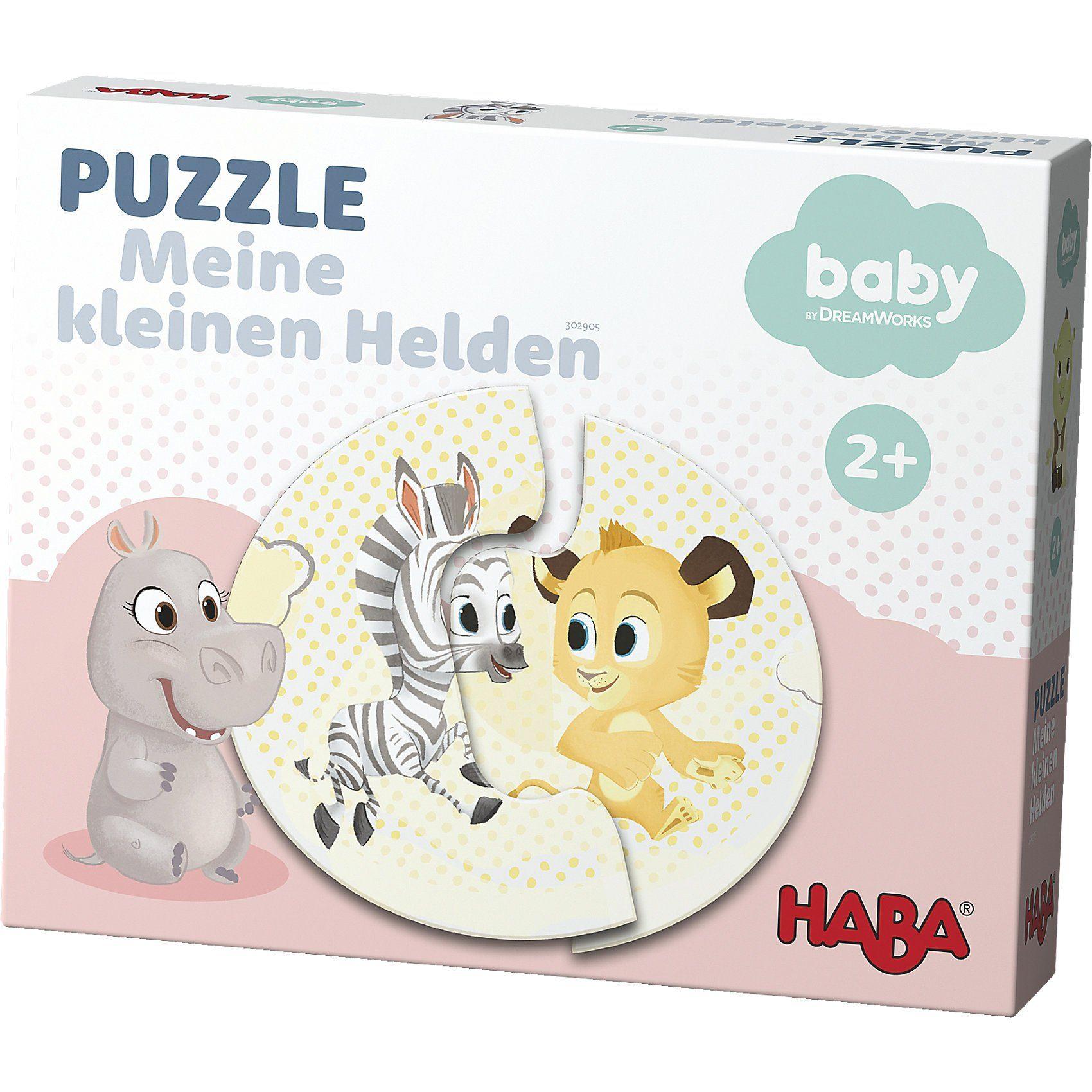 Haba Puzzle - Meine kleinen Helden, rosa