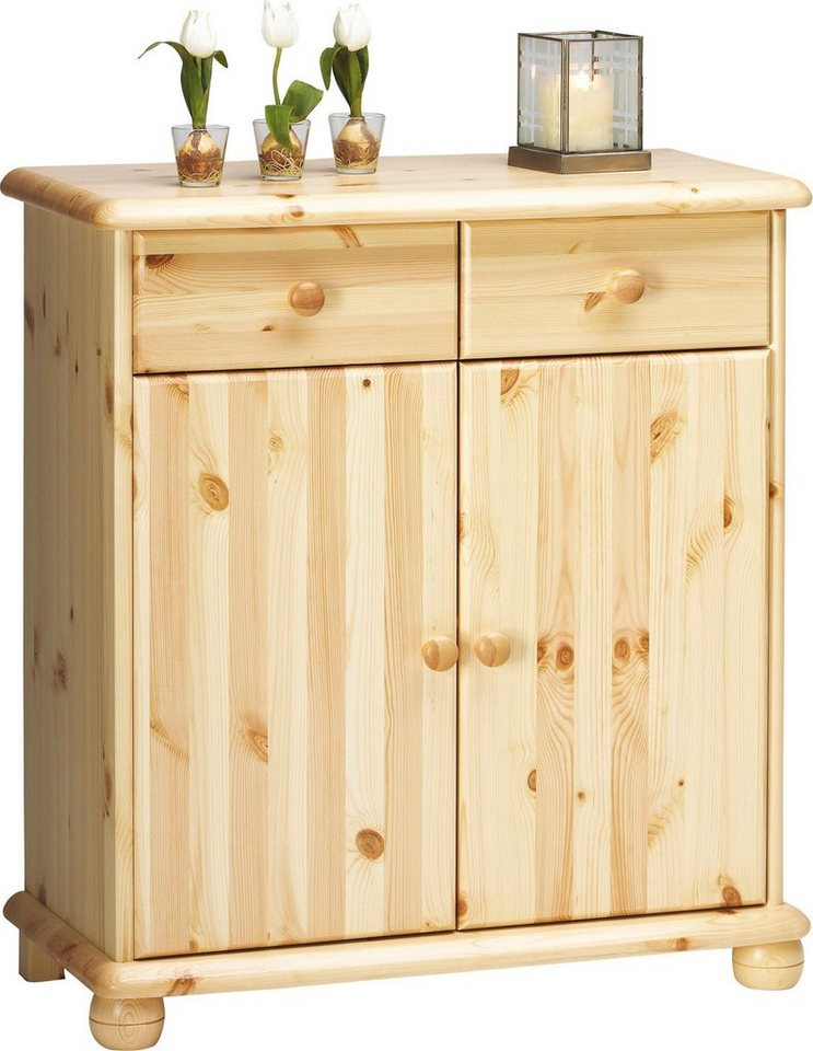 home affaire sideboard max mit 2 t ren und 2 schubladen breite 83 cm online kaufen otto. Black Bedroom Furniture Sets. Home Design Ideas