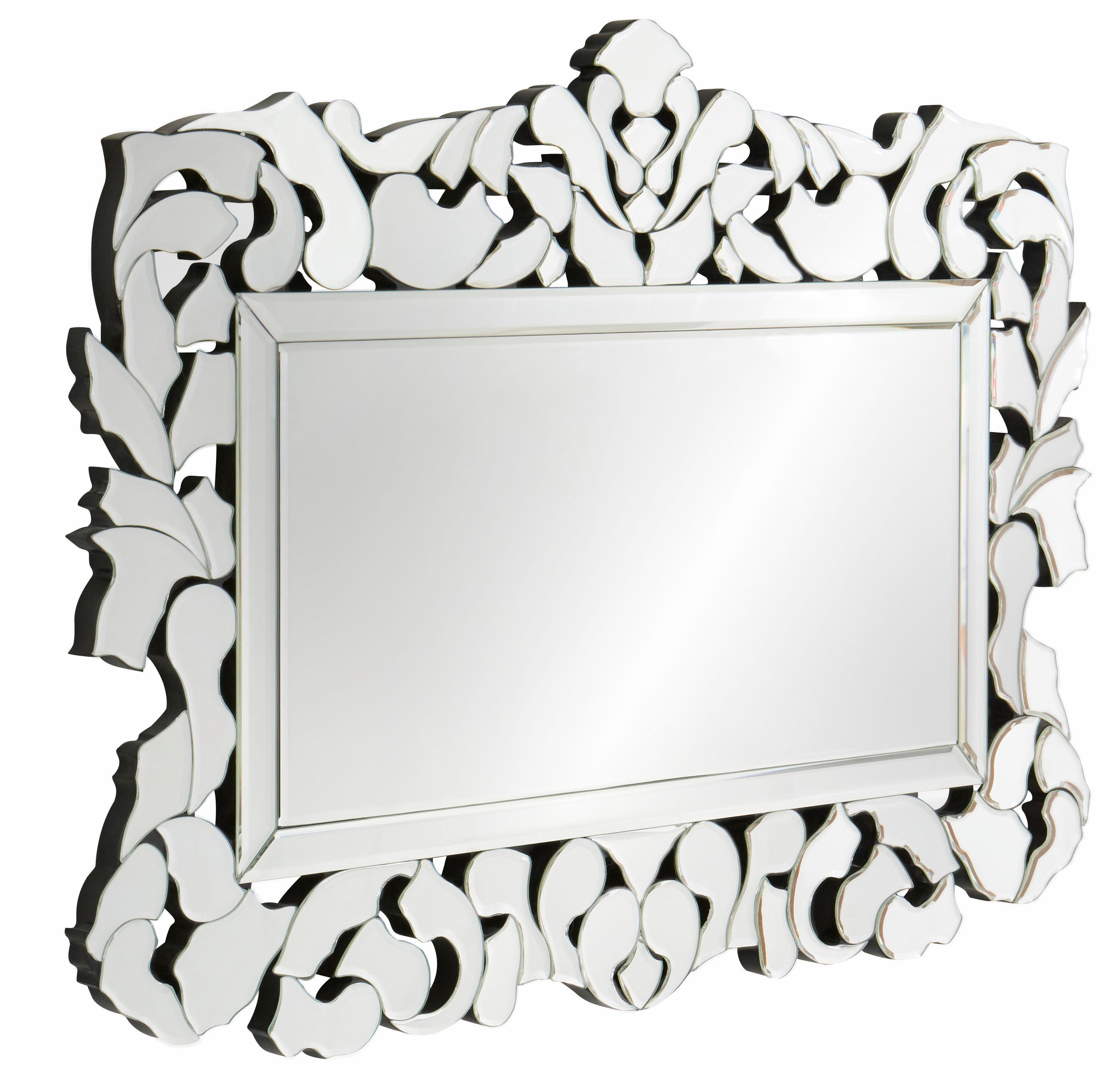 GMK Home & Living Spiegel mit verspiegeltem Rahmen