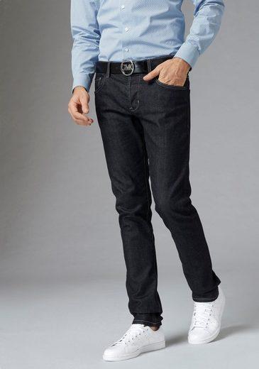 GUIDO MARIA KRETSCHMER Slim-fit-Jeans Kontrastnähte