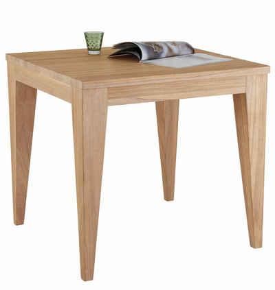 Esstisch massiv weiss  Massivholz Esstisch kaufen » Esszimmertisch aus Holz | OTTO