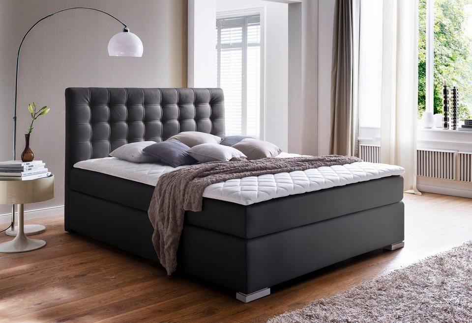 meise m bel boxspringbett h2 h rtegrad empfohlen f r personen bis 90 kg online kaufen otto. Black Bedroom Furniture Sets. Home Design Ideas