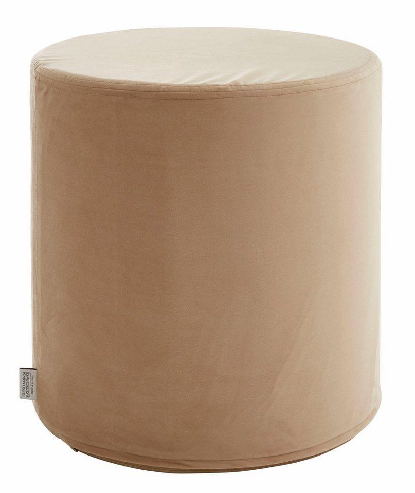 gmk home living samthocker passy mit festem styroporkern online kaufen otto. Black Bedroom Furniture Sets. Home Design Ideas