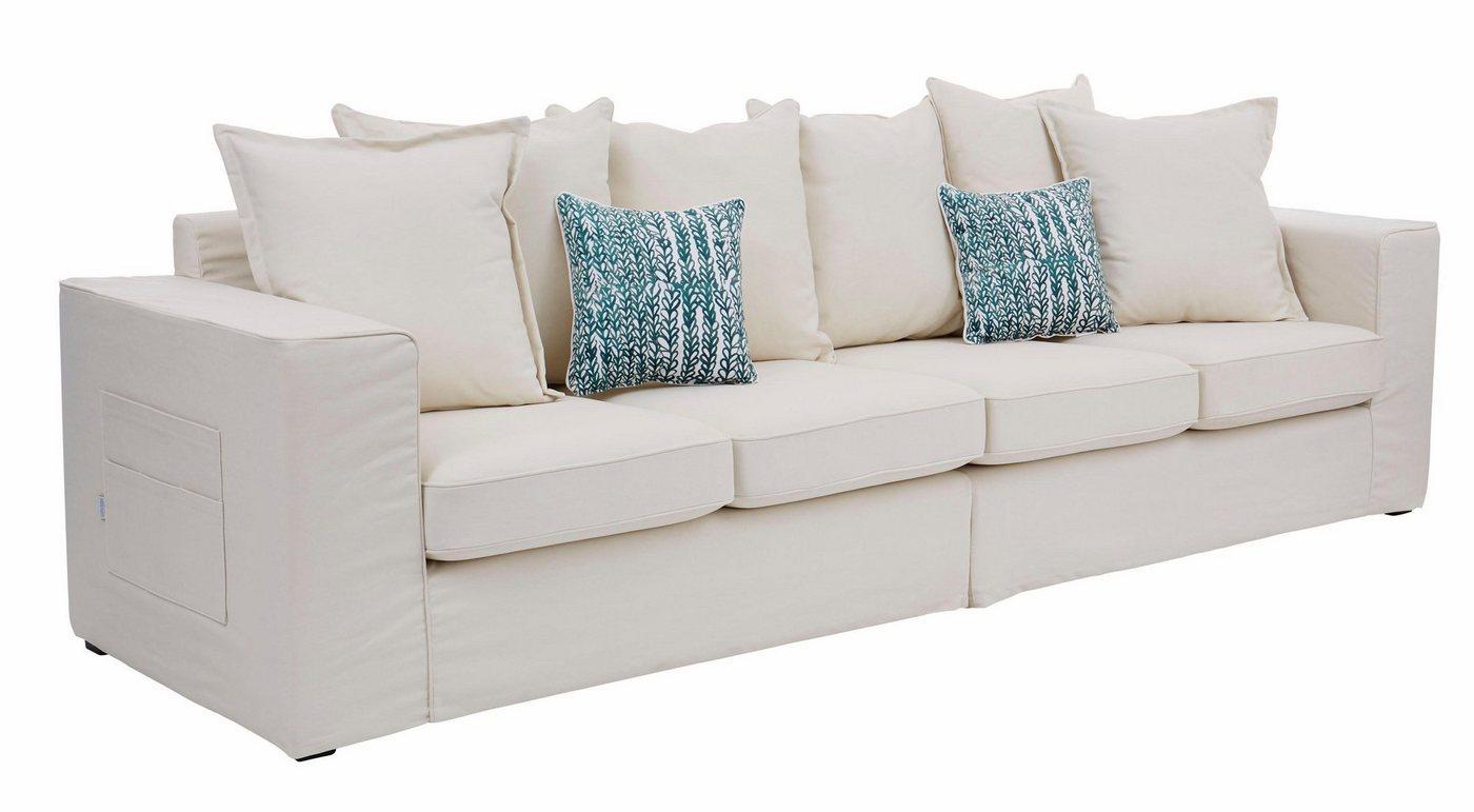 Guido Maria Kretschmer Home&Living Big-Sofa »Maarja«, mit Taschen an der Außenseite | Wohnzimmer > Sofas & Couches > Bigsofas | Holzwerkstoff | Guido Maria Kretschmer Home&Living