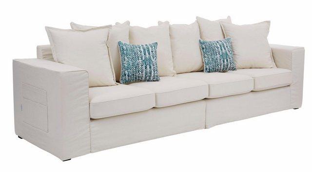 Sofas - Guido Maria Kretschmer Home Living Big Sofa »Maarja«, mit Taschen an der Außenseite  - Onlineshop OTTO