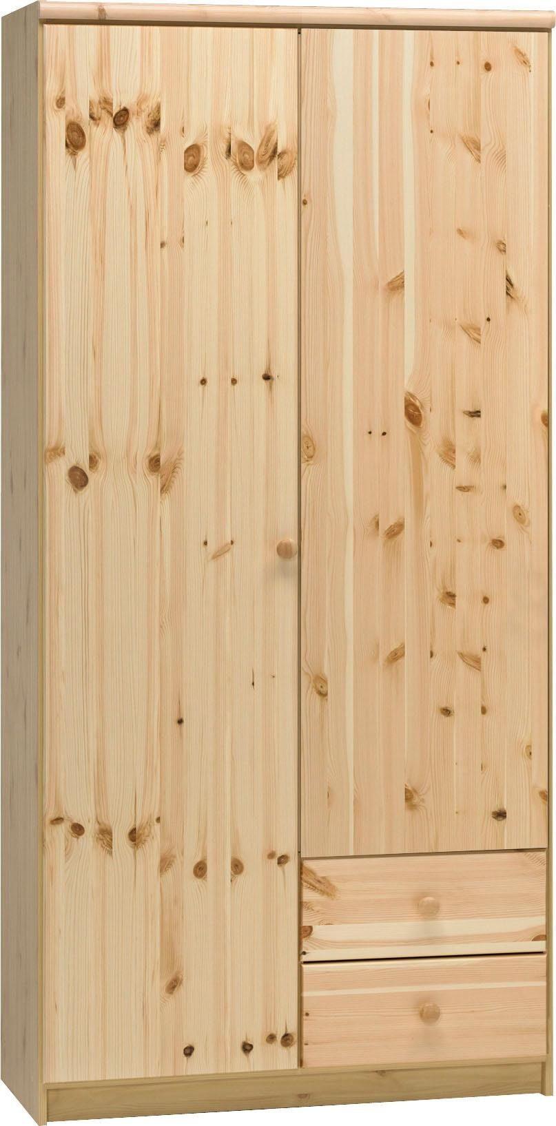 Home affaire Kleiderschrank «Axel», 2-trg., Breite 95 cm