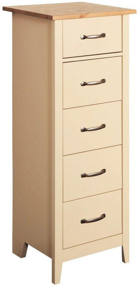Home Affaire Kommode Norfolk Mit 5 Schubladen Breite 44 Cm Online Kaufen Otto