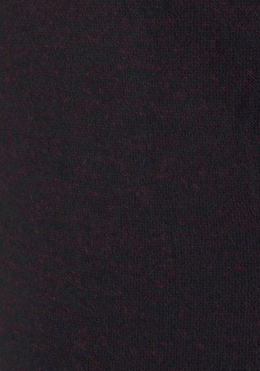 Lacoste Hose lang mit Streifeneinsatz an den seitlichen Eingrifftaschen - Sweathose