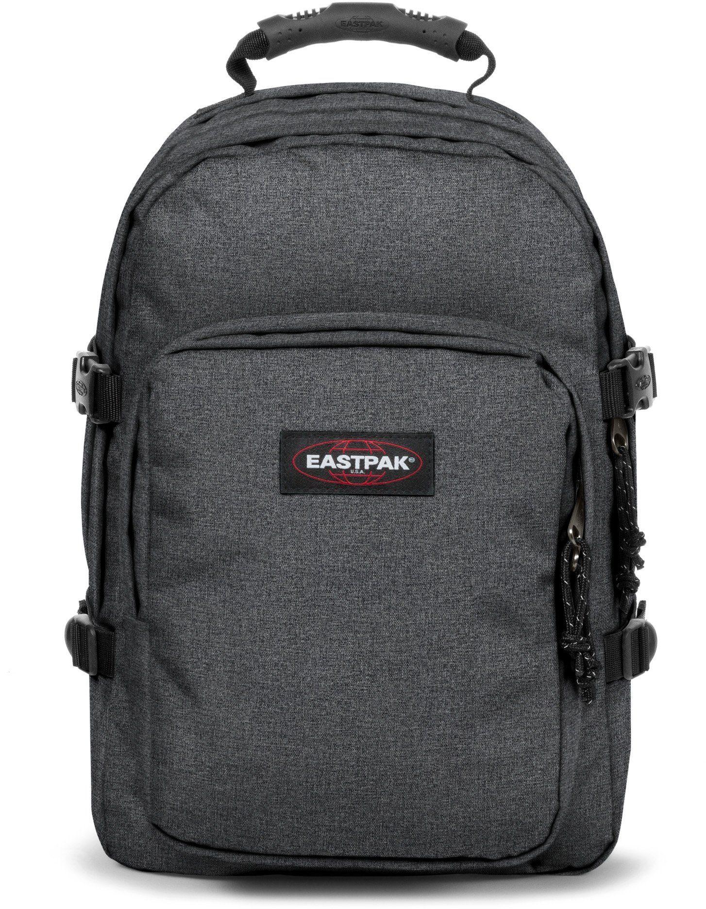 Eastpak Rucksack mit Laptopfach, »PROVIDER black denim«