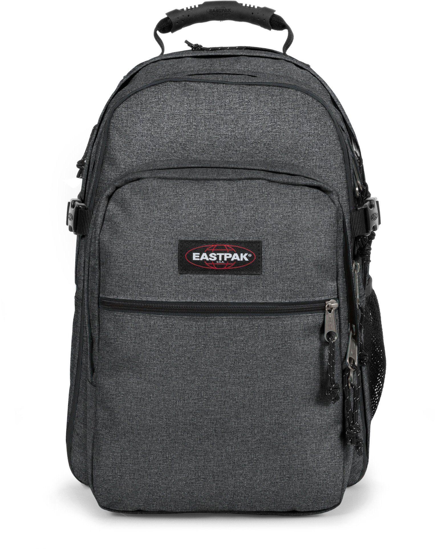 Eastpak Rucksack mit Laptopfach, »TUTOR black denim«