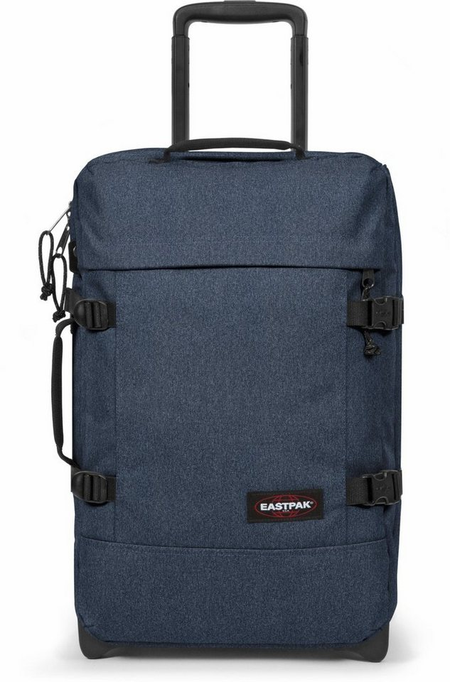 eastpak reisetasche mit 2 rollen tranverz double denim. Black Bedroom Furniture Sets. Home Design Ideas