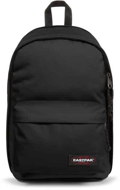 Eastpak Schulrucksack »BACK TO WORK, Black«, enthält recyceltes Material (Global Recycled Standard)