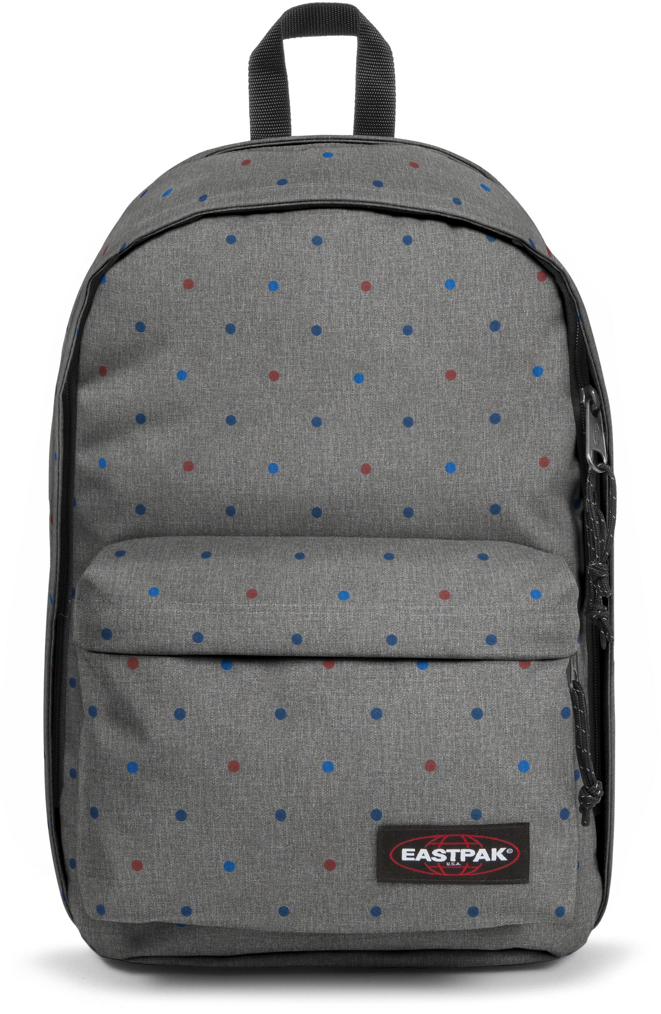 Eastpak Rucksack mit Laptopfach, »BACK TO WORK trio dots«