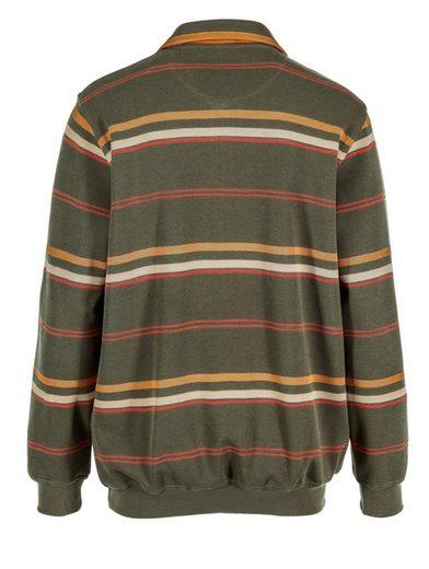 Babista Sweatshirt mit garngefärbtem Streifenmuster